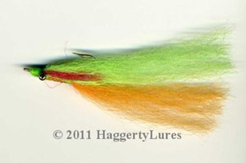Clouser Minnow  - Firetiger Perch 1/0 to 3/0