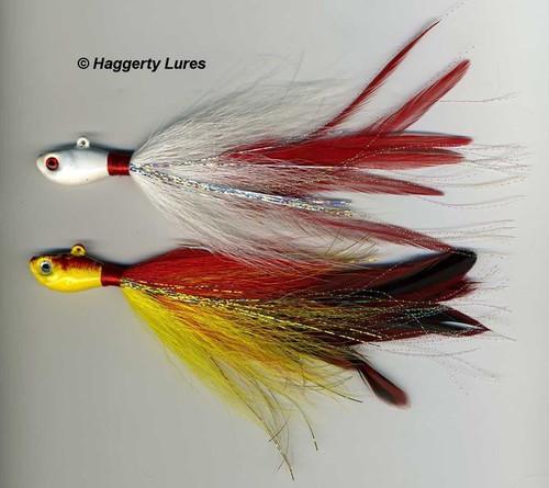 Peacock Bass Bucktail Deceiver Jigs
