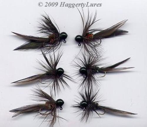 Black Panfish Bugz Jigs