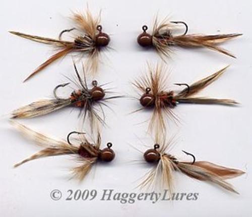 Bugz - Brown - Panfish Crappie Jig