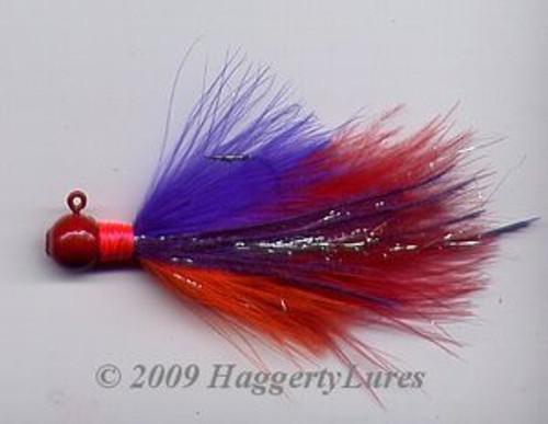 Marabou Jig - Popsicle - Round Head Fishing Lure