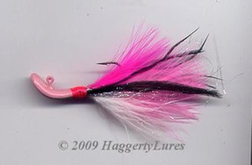 Signature Series Marabou Wobble Head Jig (Pinkie)