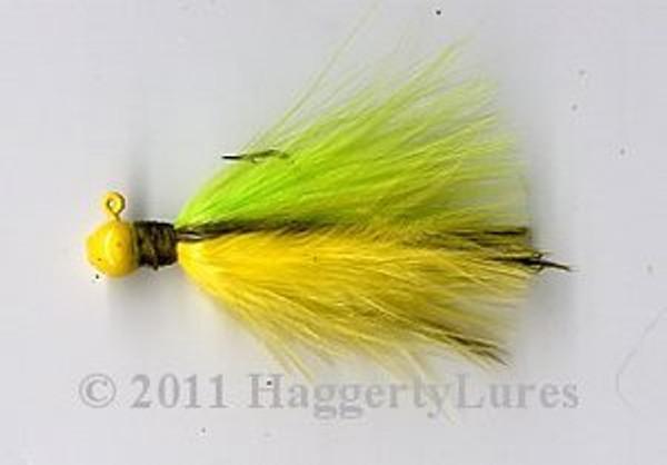 Marabou Crappie Jig - Kurt's Crappie Killer - Round Head Fishing Lure