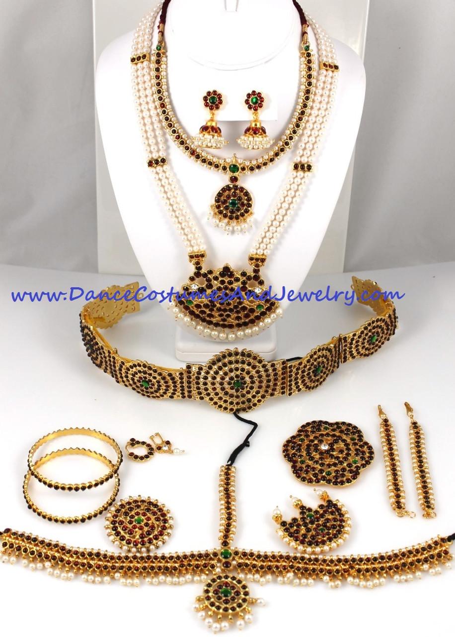 Dance jewelry set Temple Jewelry SLIM64
