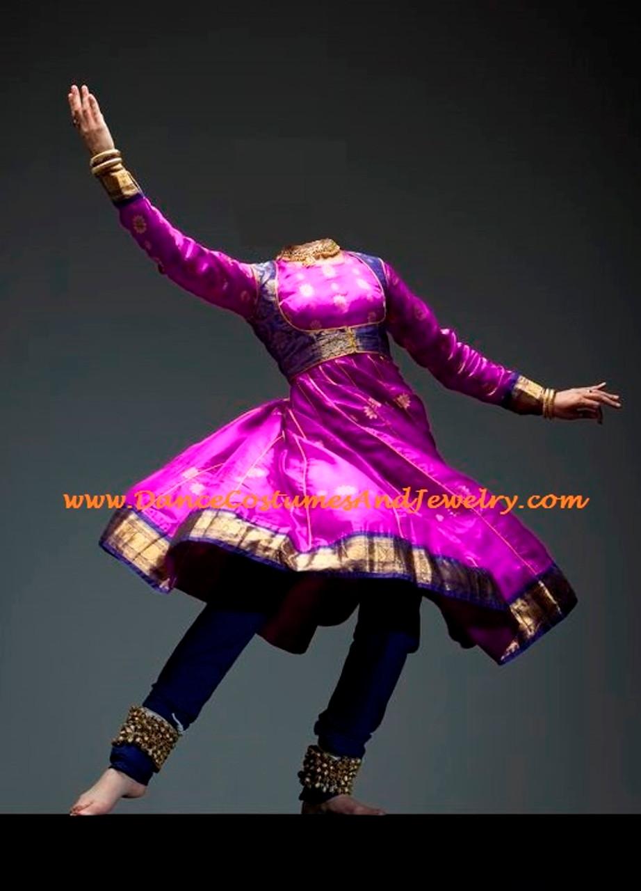 0ac3ff6085 Kathak dress. Kathak dress; Kathak dance dress; Anarkali style ...