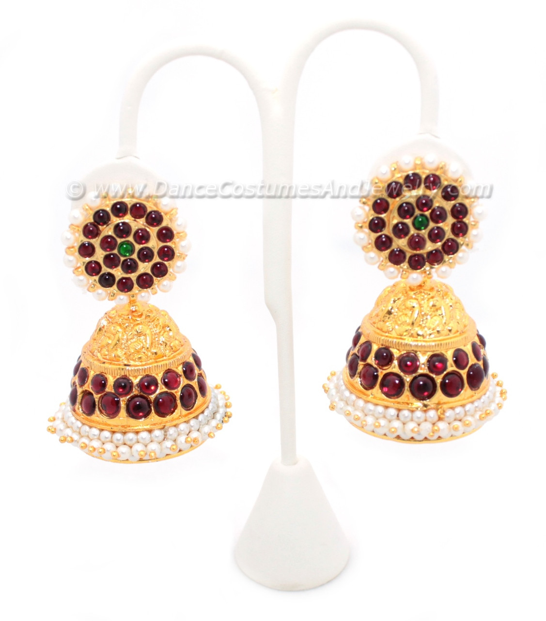Big Jimikki Imitation Temple Jewelry Ear Ring for dance