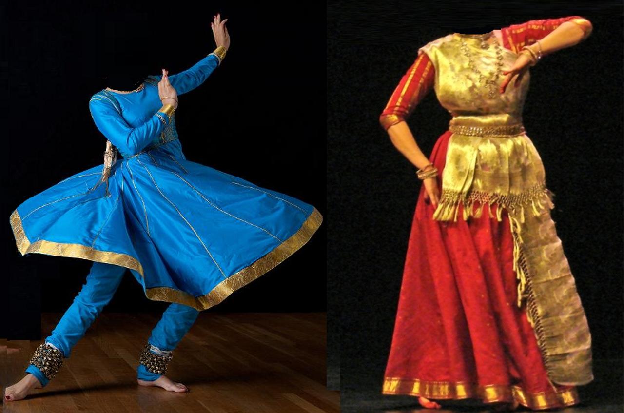 Traditional Kathak dance costume Custom made