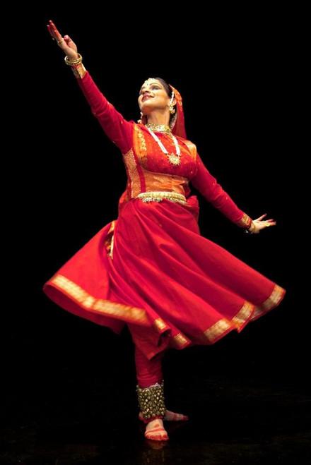 1bb7943c86 Kathak dress; Kathak dance dress; Anarkali style Kathak dress