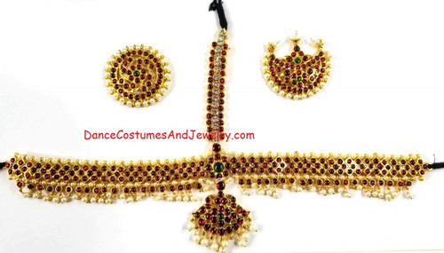 Bharatanatyam Jewelry from US Based online store  We also have