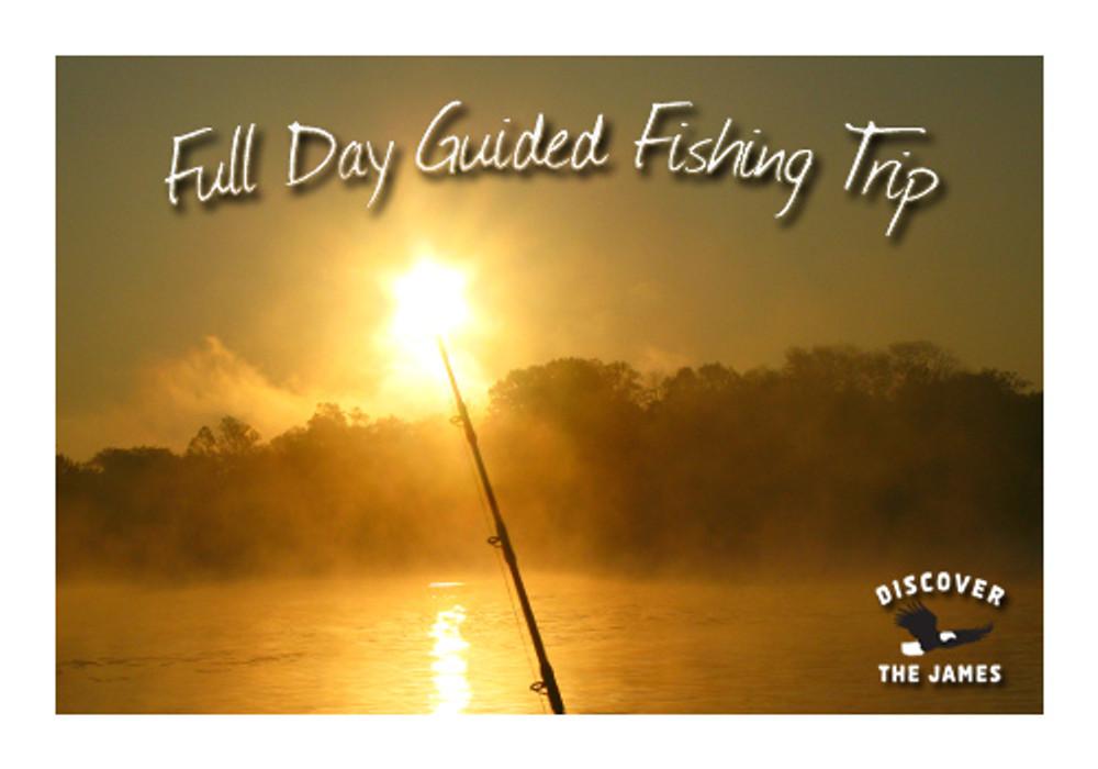 Blue Catfish: Full Day Fishing Trip (8 Hours)