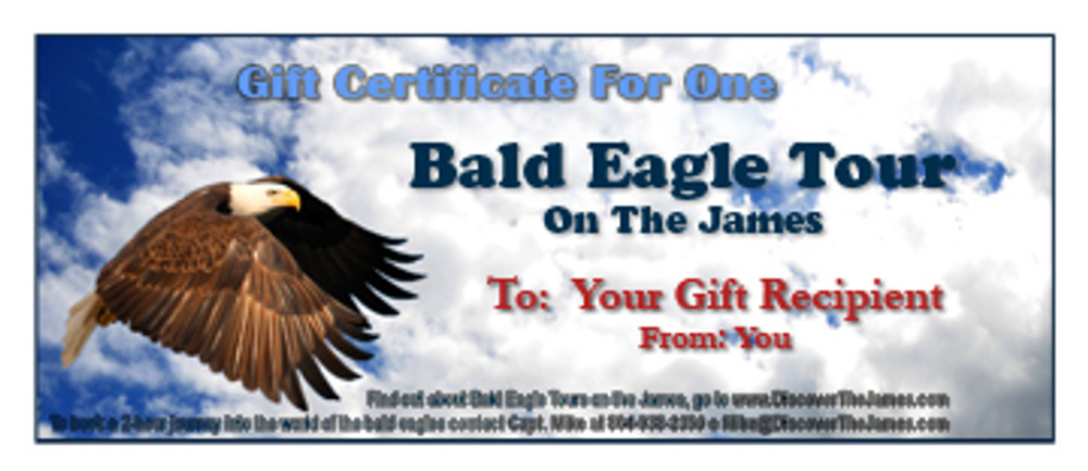 2-Hour Eagle Tour Gift Certificate
