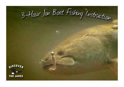 Fishing Instruction:  Jon Boat (3 Hours)