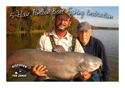 Fishing Instruction:  Pontoon Boat (5 Hours)