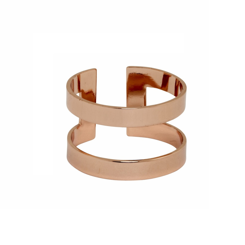 Rose Gold Plated Athens Ring