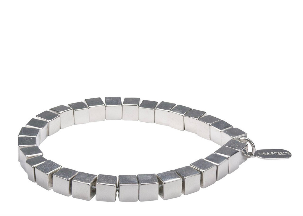 Rhodium Plated Rome Bracelet