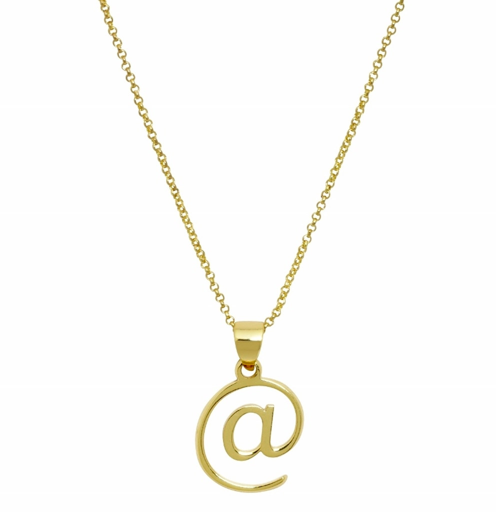 Yellow Gold Plated @ Necklace