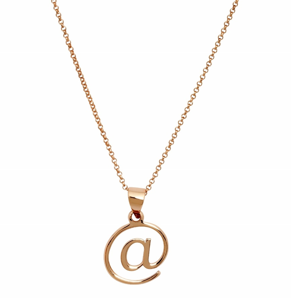 Rose Gold Plated @ Necklace