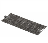 Gunmetal Plated Crystal Lace Cuff