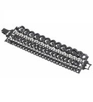 Gunmetal Plated Brigette Bracelet
