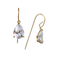 Yellow Gold Plated Raine Earrings