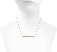 Rose Gold Plated Shown on Neck