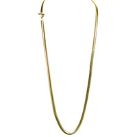 Yellow Gold Plated Cooper Necklace