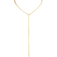 Yellow Gold Plated Mini Palette Lariat