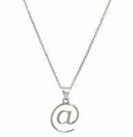 Rhodium Plated @ Necklace
