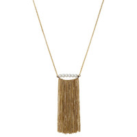 Yellow Gold Plated Rita Necklace