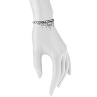 Antique Rhodium Plated Caroline Bracelet Shown on Arm