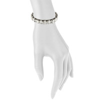 Antique Rhodium Plated Kay Cuff Shown on Arm
