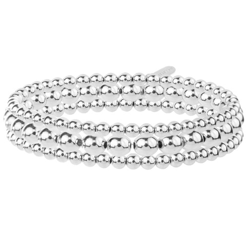 Set of 3 Sterling Silver Bracelets