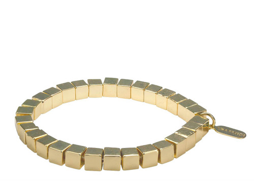 Yellow Gold Plated Rome Bracelet