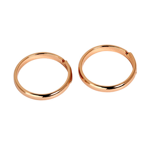 Rose Gold Plated Set of 2 Knuckle Rings