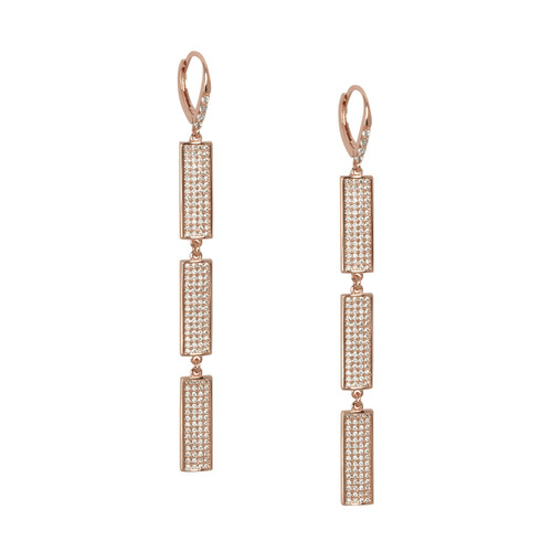 Rose Gold Plated Sophia Earrings