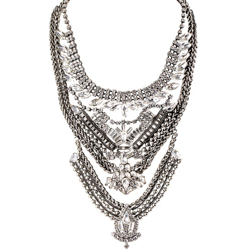 Antique Rhodium Plated