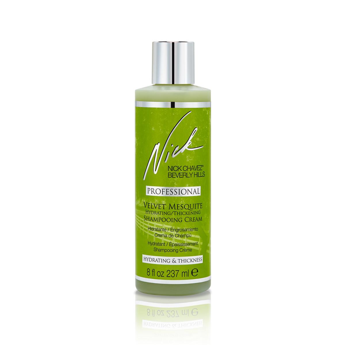 8oz Velvet Mesquite Hydrating Thickening Shampooing Creme