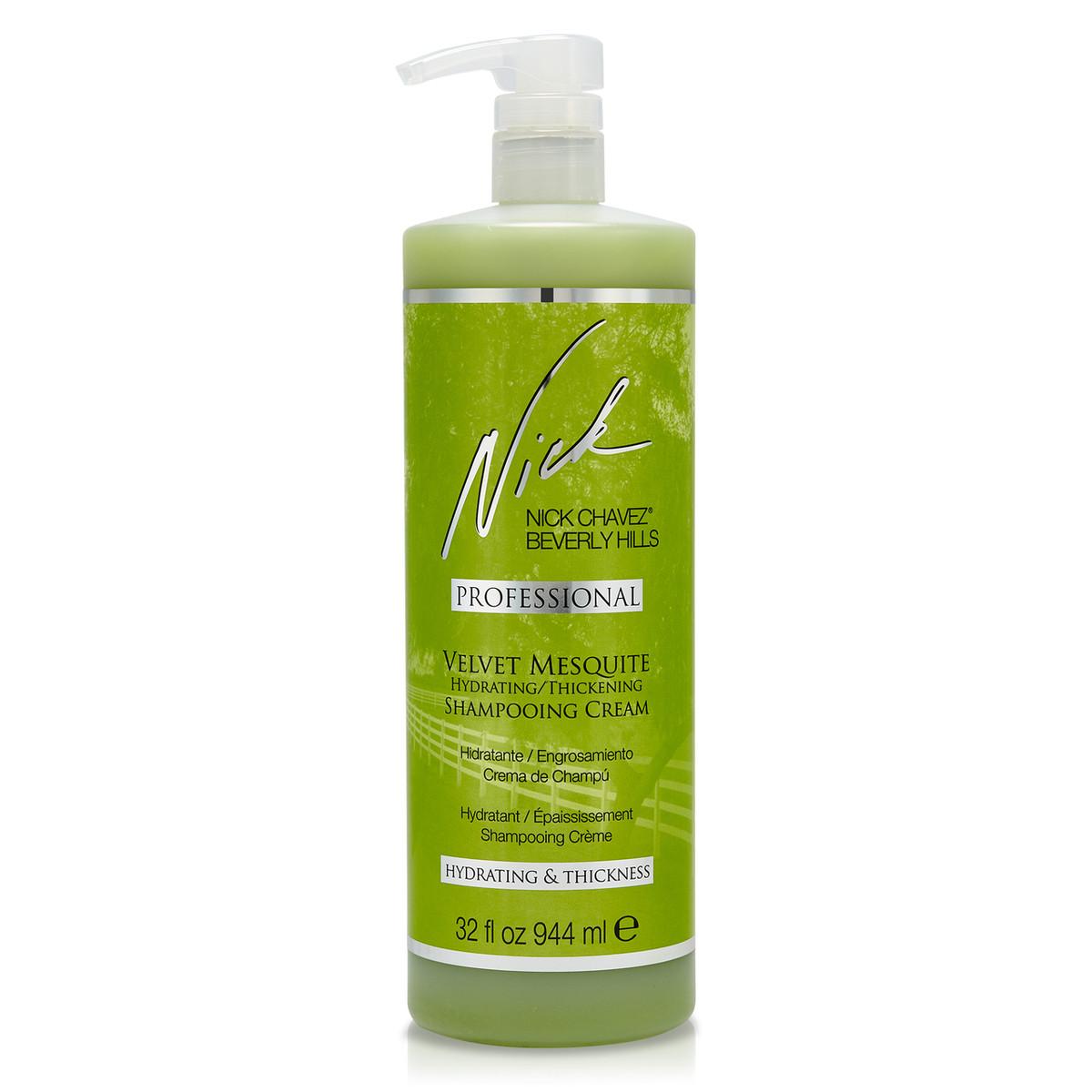 Velvet Mesquite Hydrating Thickening Shampooing Creme 32oz