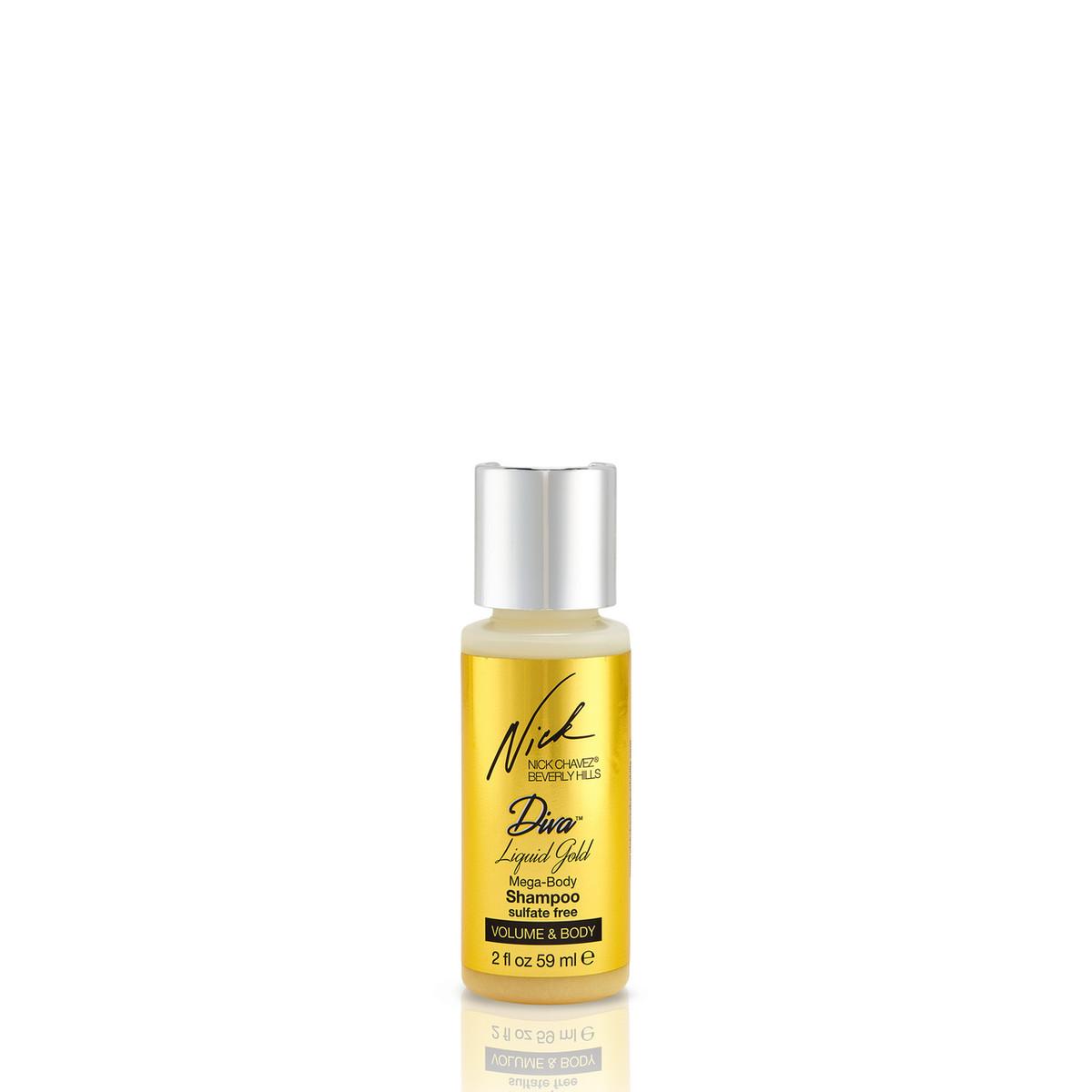 Diva Liquid Gold Shampoo 2oz