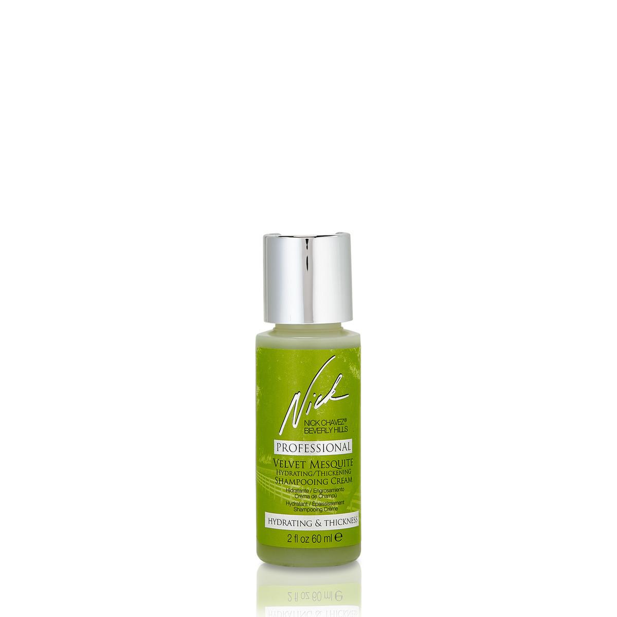 2oz Velvet Mesquite Hydrating Thickening Shampooing Creme