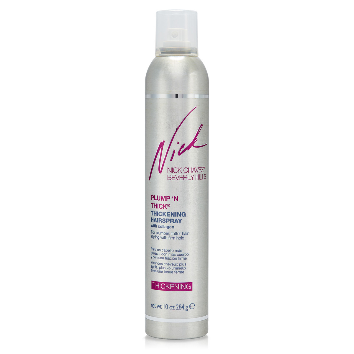 Plump 'N Thick Thickening Hairspray 10oz