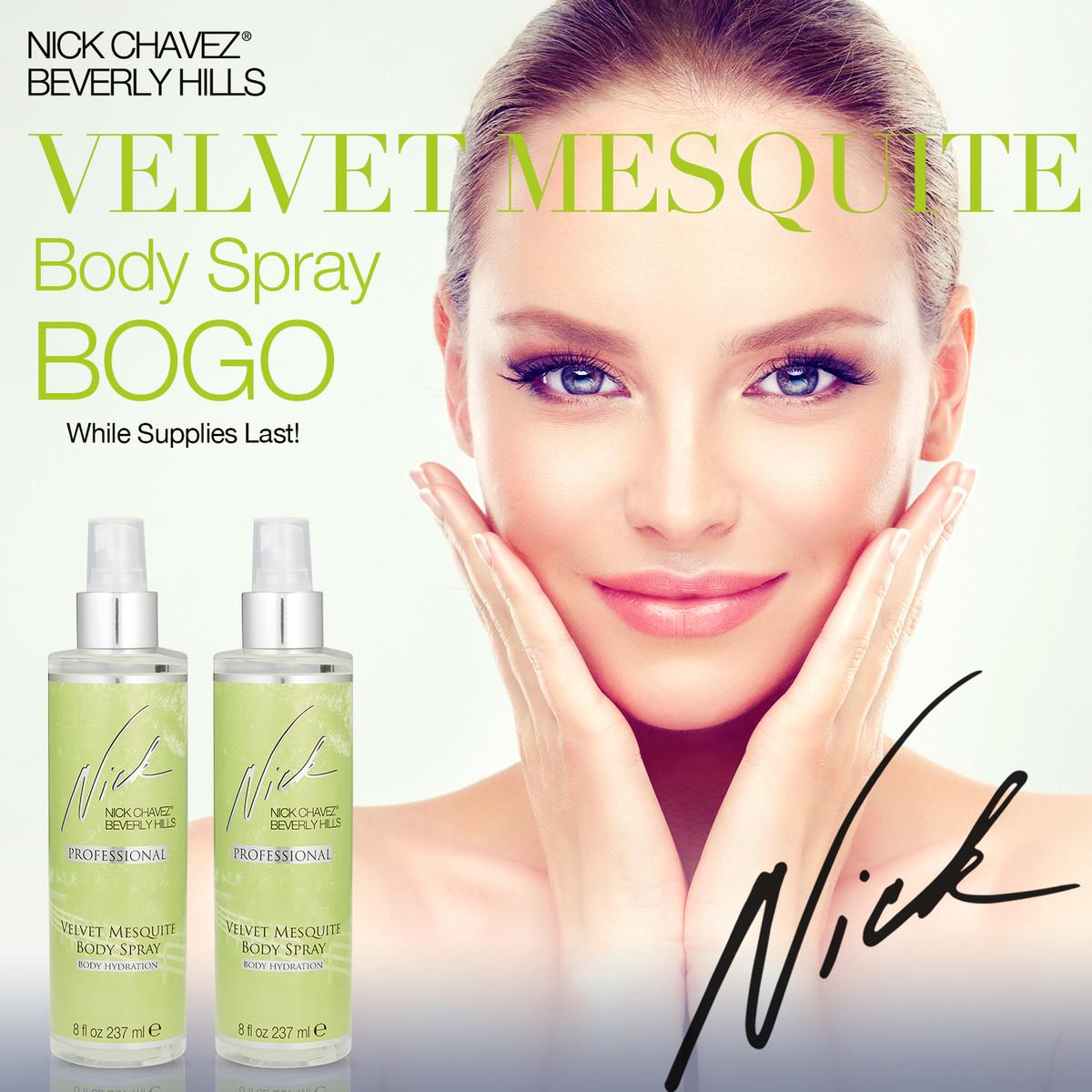 8oz Velvet Mesquite Body Spray