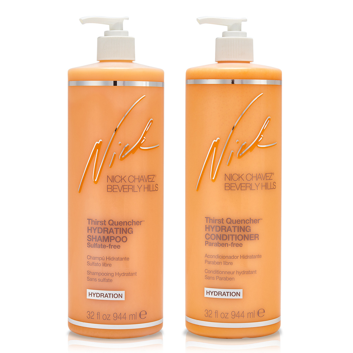 32oz Thirst Quencher Shampoo and Conditioner Duo