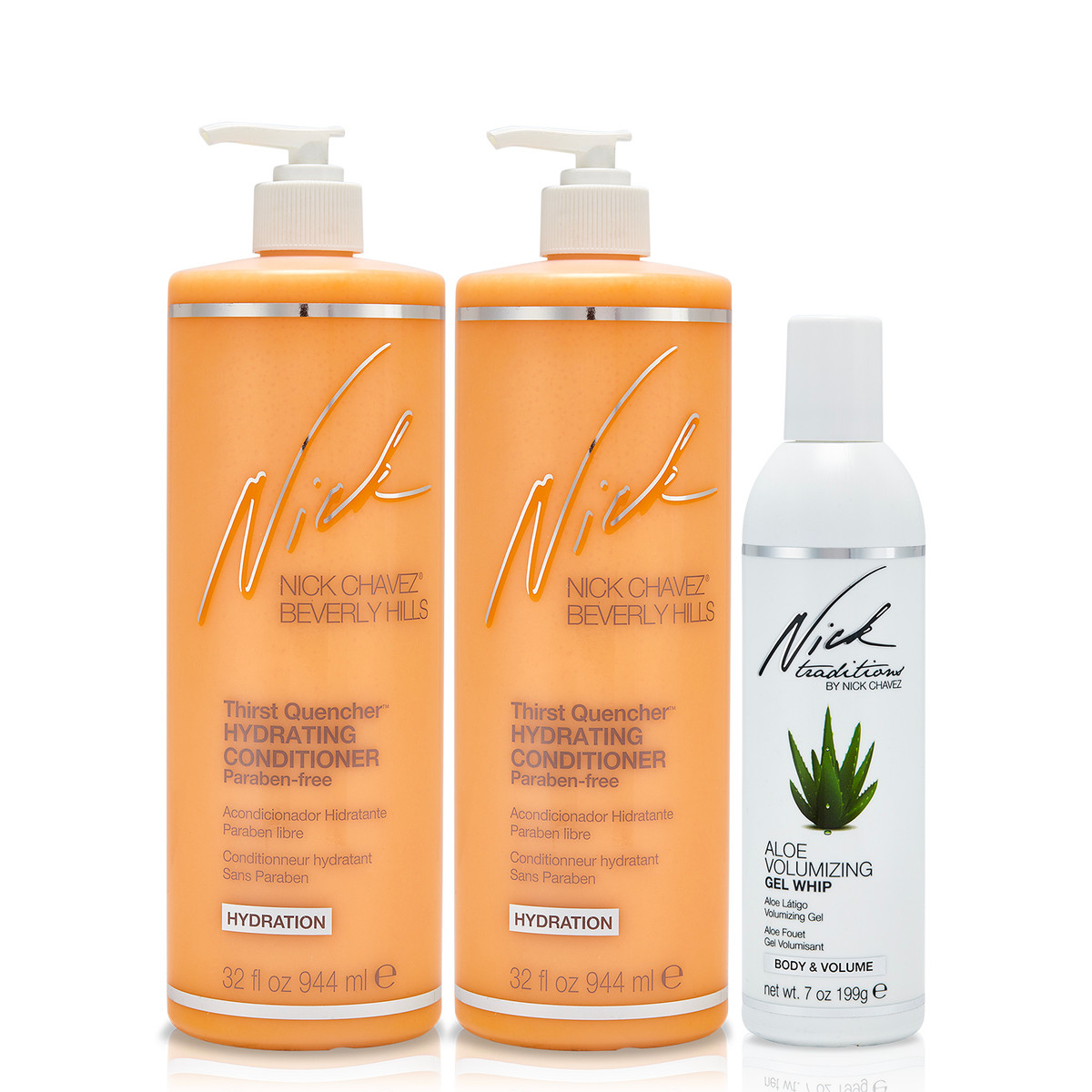 Quench Your Hair's Thirst Trio