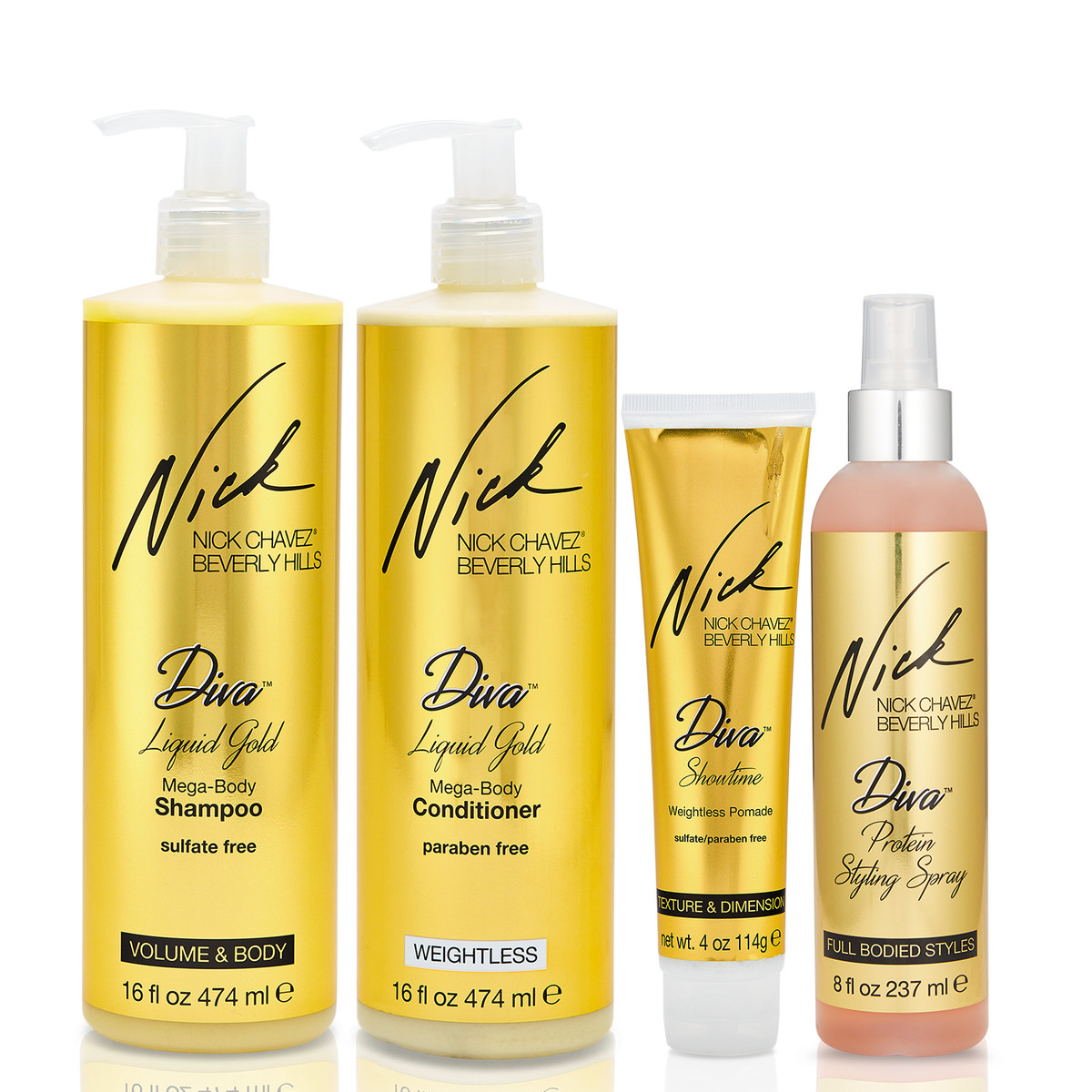 Diva Delight 4PC Gift Set