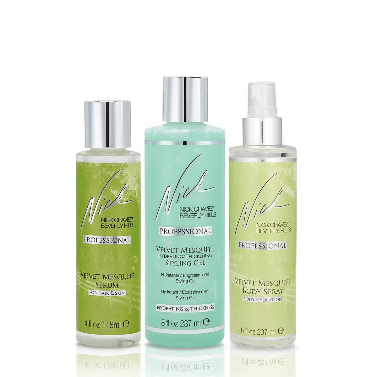 Velvet Mesquite Healthy Hair & Body Gift Set