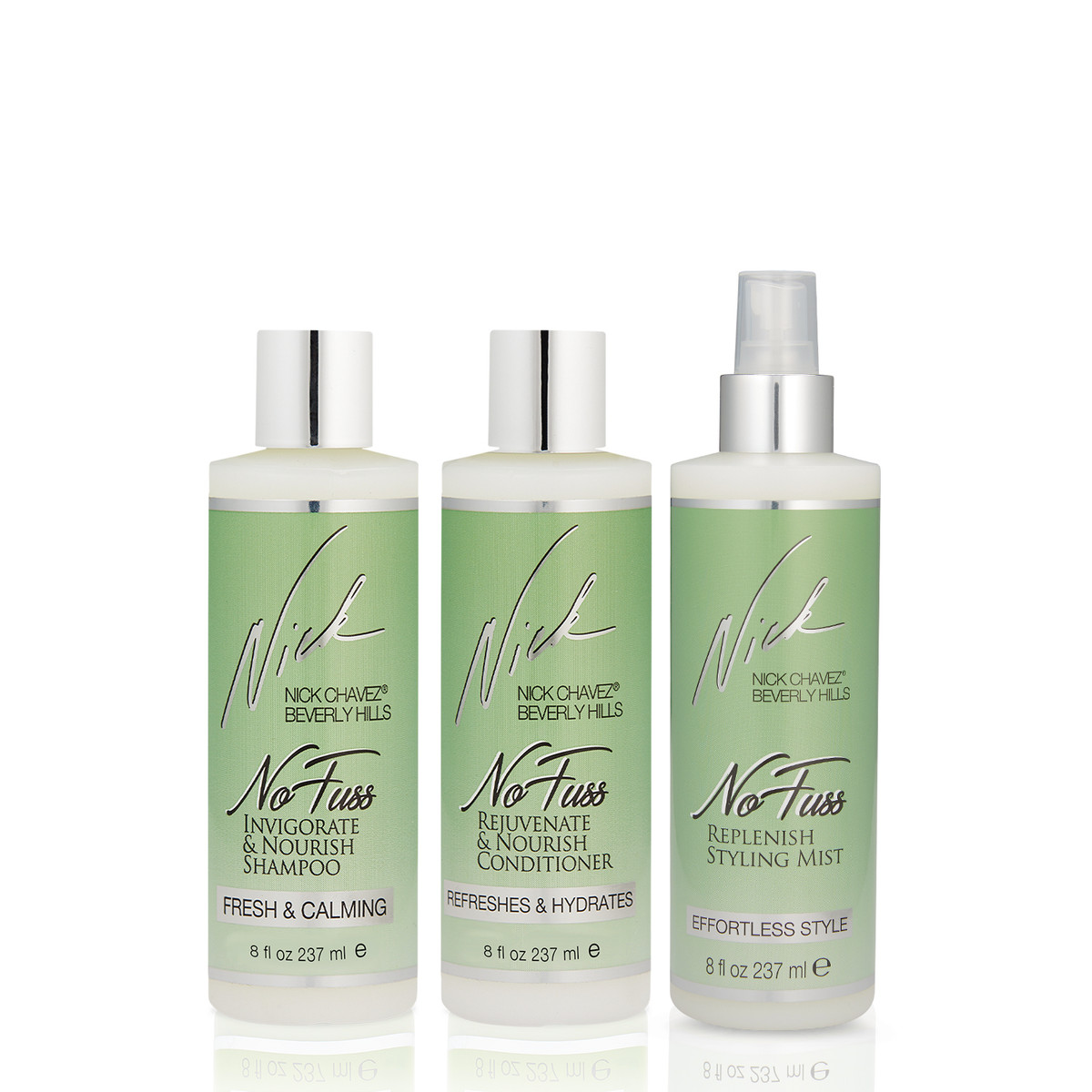 No Fuss Haircare System