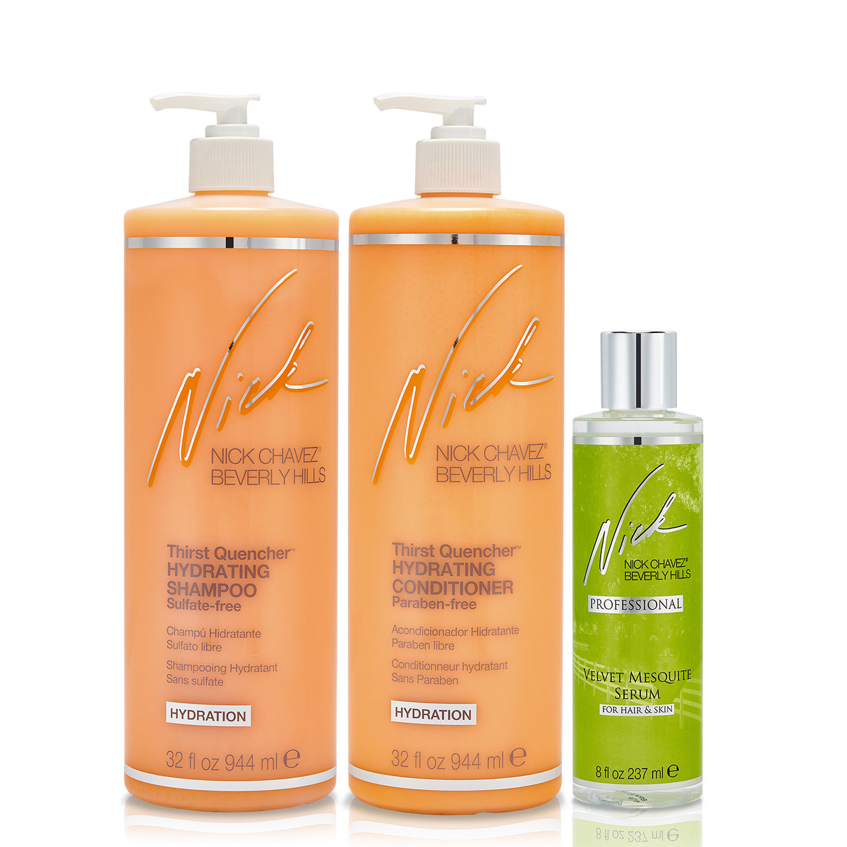 Quench Your Hair's Thirst Gift Set