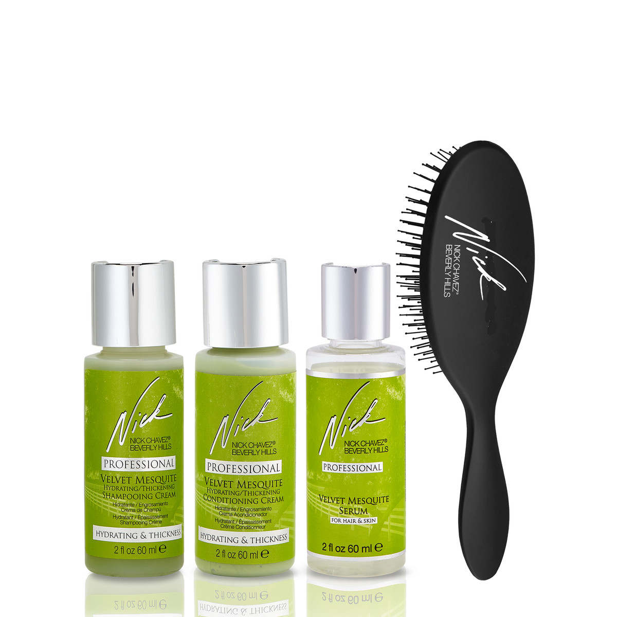 Cleanse, Brush '& Style to Go Gift Set