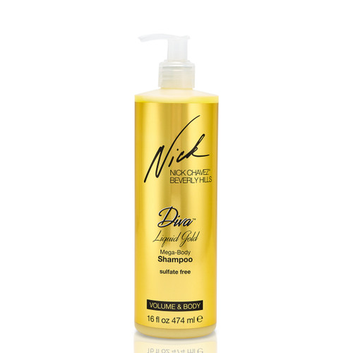16oz Diva Liquid Gold Mega-Body Shampoo